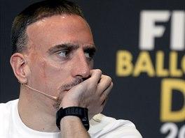 Mám letos vážně šanci?, říká si možná Franck Ribéry.