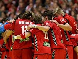 Čeští házenkáři podali proti Dánsku bojovný výkon, na obhájce titulu to ale...