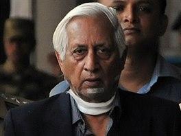 Indický generálporučík Kuldip Singh Brar byl v září 2012 zraněn, když ho v...