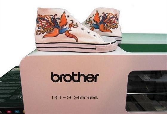 Digit�ln� tisk�rny Brother GT3  nejen pro potisk tri�ek