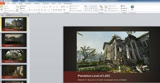 Tento obrázek údajně pochází z prezentace enginu Source 2