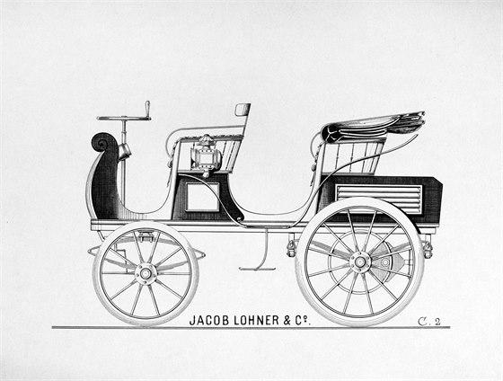 Egger-Lohner electric vehicle, C.2 Phaeton model, nebo také Porsche P1