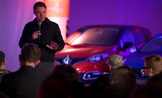Laurens van den Acker, šéfdesignér automobilky Renault