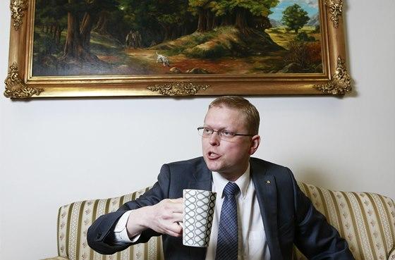 Vicepremiér pro vědu a výzkum a předseda KDU-ČSL Pavel Bělobrádek (20. ledna