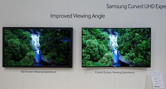 Při přímém porovnání ploché a prohnuté obrazovky jsme museli uznat, že na...