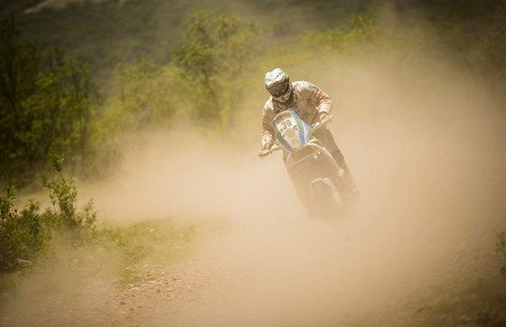 David Pabiška na Rallye Dakar