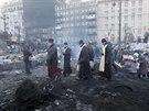Krajina po bitvě. Pravoslavní duchovní mezi kyjevskými barikádami (27. ledna...