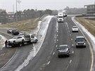 Nezvykl� mraziv� po�as� na jihu USA zp�sobilo �adu dopravn�ch nehod (28. ledna...
