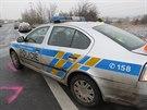 Na silnici u Kamenných Žehrovic na Kladensku dopoledne havarovalo v krátkém...