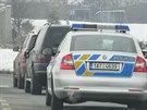 Policisté zadrželi u Průhonic ženu, která řídila i přes zákaz řízení