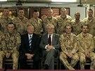 Prezident Miloš Zeman 24. a 25. ledna navštívil Afghánistán, kde se setkal s...