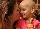 Tříletá Terezka za sebou již má onkologickou léčbu, zapomenout natraumata by jí...