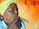 Kubánské doutníky jsou vyhlášené, ale místní kouří zekonomických důvodů spíše...