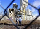 Příčinu exploze v americké Omaze zatím vyšetřovatelé neznají (2o. ledna 2014).