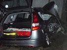 Nehodu ve Frýdku-Místku nepřežila žena sedící na místě spolujezdce. (20. ledna...