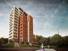 Před pár dny zkolaudovaný vysočanský věžák Eliška je nejvyšší čistě bytovou...