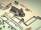 Po řádění Husitů v 15. století zbyly z velkolepého areálu jen ruiny.