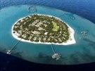 Soukromý ostrov Velaa na Maledivách, na kterém nechal bývalý spoluvlastník PPF...