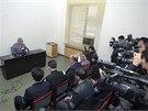Severokorejci uspořádali tiskovou konferenci s vězněným Američanem Kennethem