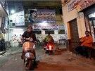 Podobizny Abdela Fataha Sisiho jsou k vidění na řadě míst v Káhiře, polní