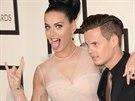 Katy Perry vzala na Grammy svého bratra.