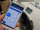 Pračka budoucnosti: barevný dotykový displej, ovládání přes internet a...