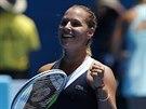 RADOST Z POSTUPU. Slovenská tenistka Dominika Cibulková se na Australian Open...