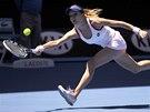 RYCHL� NOHY. Agnieszka Radwa�sk� ve �tvrtfin�le Australian Open.