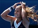 TOMU NEMŮŽU UVĚŘIT. Dominika Cibulková se právě probila do finále Australian