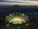 Kulisy utkání NHL pod širým nebem mezi Los Angeles a Anaheimem.
