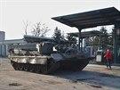 Vyprošťovací tank VT 72B před opravou. Pohání ho dieselový  dvanáctiválec  o...