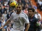 Momentka z duelu španělské ligy mezi Realem Madrid a Granadou - na snímku...
