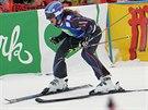 Francouzská skikrosařka Ophelie Davidová na závodu Světového poháru v...