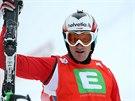 Švýcarský skikrosař Alex Fiva na závodu Světového poháru v Kreischbergu