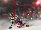 Rakousk� slalom�� Marcel Hirscher skon�il ve Schladmingu druh� o 18 setin