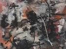 Bez názvu. Abstrakce je z roku 1956