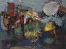 bez názvu (Mořská krajina), Abstrakce je z roku 1955