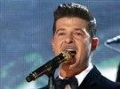 Robin Thicke a Chicago (Grammy 2013)