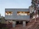 Dům navrhla kalifornská architektonická kancelář Anonymous Architects.
