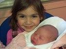Dcery Vlasty Horv�tha Linda a Al�b�ta, kter� se narodila 23. ledna 2014.