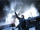 V Kyjevě pokračují střety mezi opozičními demonstranty a policií. (25. 1. 2014)