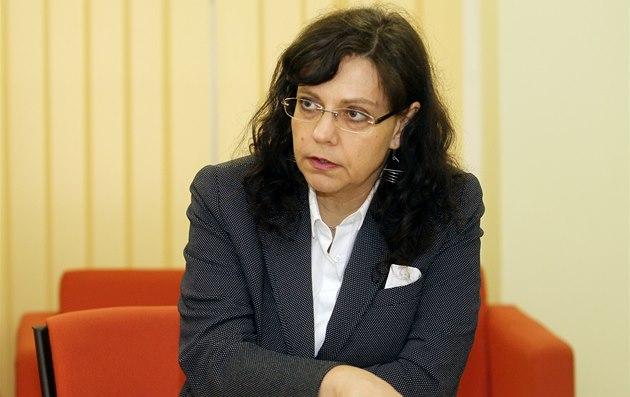 Budoucí ministryn� práce a sociálních v�cí Michaela Marksová-Tominová (23.