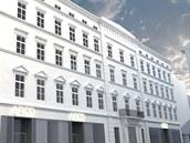 Takhle by měl vypadat palác Chlumeckých v centru Brna po rozsáhlé rekonstrukci.