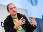 Spoluzakladatel a šéf společnosti WhatsApp Jan Koum na konferenci DLD v...