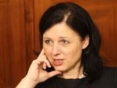 Budoucí ministryně pro místní rozvoj Věra Jourová (23. ledna 2014)