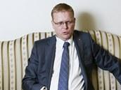 Vicepremiér pro vědu a výzkum a předseda KDU-ČSL Pavel Bělobrádek (20. ledna 2014)