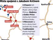 Místa spojená s Jakubem Krčínem