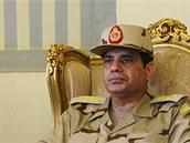 Kandidaturu Abdala Fataha Sisiho na post egyptského prezidenta podpořila armáda. (27. ledna 2014)
