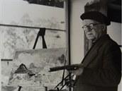 Malíř Josef Matička