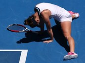 ZMAR. Simona Halepov� ve �tvrtfin�le Australian Open.
